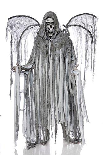 Kostüm Angel Männer - Horror Halloween Halloweenkostüm Herren Engel Tod Skelett Skelettkostüm Geist Geisterkostüm Todkostüm Grusel