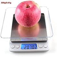 Escala de joyería Dongjinrui 500GX0.01G Mini Digital Libra balanzas de cocina para alimentos frutas