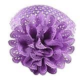 Huhu833 Baby Kinder Mädchen Spitze Blume Haarband Stirnband Dress up Kopfband (Violett)
