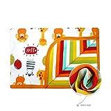 CuteOn Super Weich Baumwolle Multifunktion Decke für Toddler Jungen Mädchen - 01 Zebra