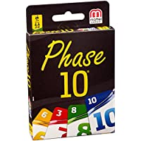 Mattel-Spiele-DNX30-Kartenspiele-Phase-10-Basis Mattel Spiele DNX30 – Kartenspiele, Phase 10 Basis -