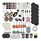 248pcs Rotary Werkzeug Zubehör-Set für einfache Schneiden Schleifen Schleifen Carve