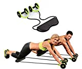 Home Cube Foldable Revoflex Xtreme Rally Multifunction Pull Rope Wheeled Health Abdominal Muscle
