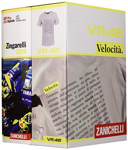 lo Zingarelli 2019. Limited Edition con maglietta VR46 (misura S) versione Plus