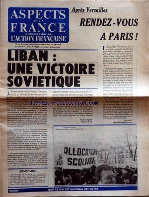 ASPECTS DE LA FRANCE [No 1840] du 08/03/...