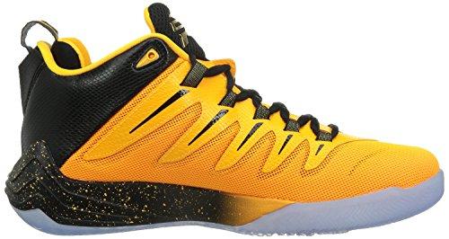 Nike Jordan Cp3.Ix, Scarpe da Basket Uomo, Talla Multicolore (Negro / Dorado / Naranja / Rojo (Blck / Mtllc Gld-Lsr Orng-Infrrd))