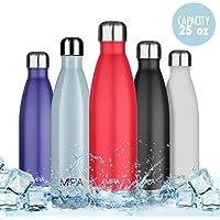 Bottiglia per l'Acqua Isolata Sottovuoto a Doppia