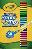 Crayola 50 Washable Supertips Markers