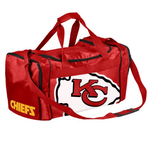 Forever Collectibles Kansas City Chiefs Duffle Bag NFL Sporttasche