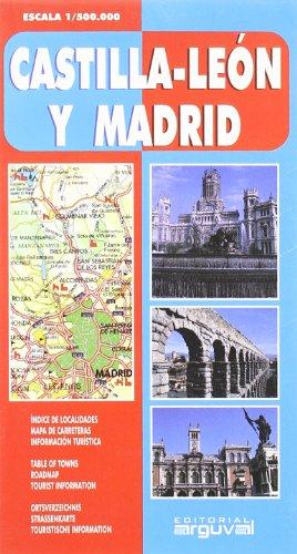 Mapa de Madrid Castilla y Leon (MAPAS DE CARRETERAS) por Arguval