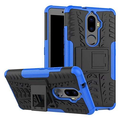 JFSH pour Lenovo A7010 Boîtier, Support en Plastique Dur pour Support de Peau en Silicone à Double Couche de Protection Lenovo A7010 5.5 Pouce