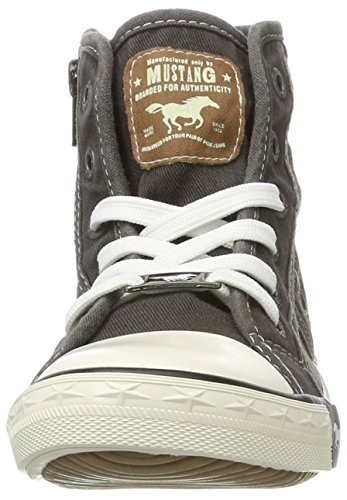 Mustang 5803-503, Sneakers Hautes Mixte Enfant Gris (2 Grau)