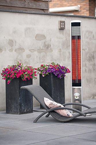 OutTrade Elektrische Heizung Slimline, Grau, 160 cm - 4
