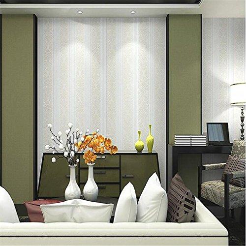 JIAJU Nicht gewebte Wandpapier Dicke europäisch-Stil 3D einfache Wohnzimmer Schlafzimmer Wallpaper Pattern, A-3