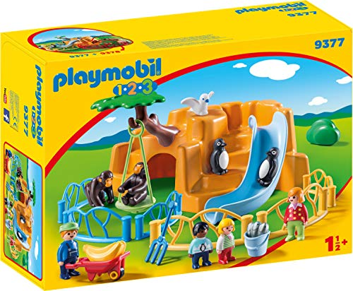Playmobil- 1.2.3 Zoo Juguete