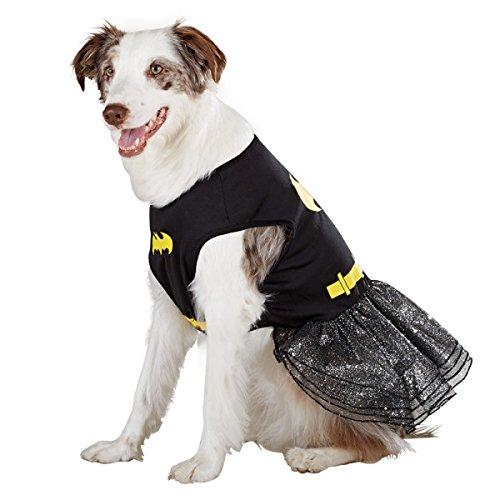 Batgirls Kostüm - DC Comics Batman/Batgirl Hund Verkleiden Halloween-Kostüm Größe: XS