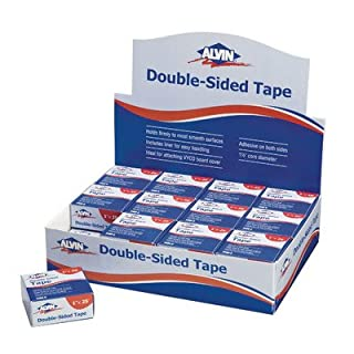 Alvin 2400CD Dbl Side Tape 1 X 25ft Dsp-24