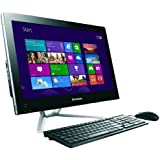 Lenovo C445 21 inch Non Touch All-In-One PC (AMD E1-1200 1.4GHz Processor, 4GB RAM, 1TB HDD, DVDR, LAN, WLAN, Webcam, Integrated Graphics, Windows 8)