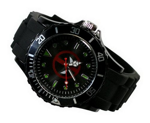 new-fashion-kid-wg21-marvel-super-hero-deadpool-boy-man-metal-black-silicone-watch-wrist