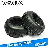 WEWOM 2 Hochwertige Ersatz Ohrpolster für Sony MDR XB500 Kopfhörer