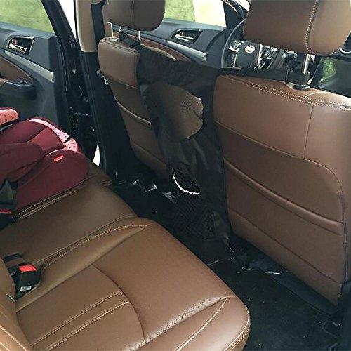 LPY-Fahrzeug PET Barrier Rücksitz Mesh Dog Car Divider net 46 * 69cm