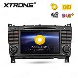XTRONS 17,8cm Android 8.0Octa Core 4G RAM 32G ROM Auto Stereo-Radio HD Digital Multi-Touchscreen in Dash DVD-Player Reifendruck Überwachung Wifi DVR OBD2Für Mercedes Benz a-w168C-w203g-w463