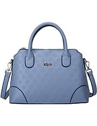 BOYATU borsa in pelle di vera pelle per le donne Business Office Ladies  Borsa a tracolla a94380f1e44