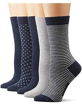 Schiesser Damen Socken, 5er Pack