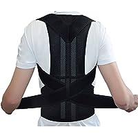 Geradehalter Rücken Bandage zur Haltungskorrektur bei Rücken Schulterschmerzen Damen und Herren von ZJchao preisvergleich bei billige-tabletten.eu
