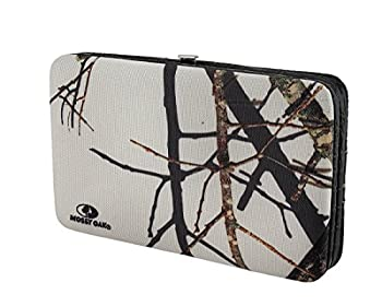 Mossy Oak Camouflage Canvas Studded Western Style Wallet (Black) 1