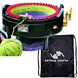 addi Express Kingsize Strickmaschine, 46 nadeln, mit 1 Artsiga Crafts Aluminium-Maschenhalter