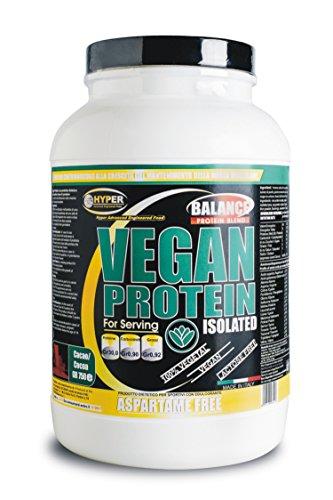 1500 gr Vegan Protein Isolated saveur de chocolat. Les protéines végétales 90% goût de cacao .Pour végétariens et végétaliens (de protéines de soja isole, isolat de protéines de pois, le riz isolat de protéine) à libération lente, faible en glucides et en lipides. Il ne contient pas d'aspartame.
