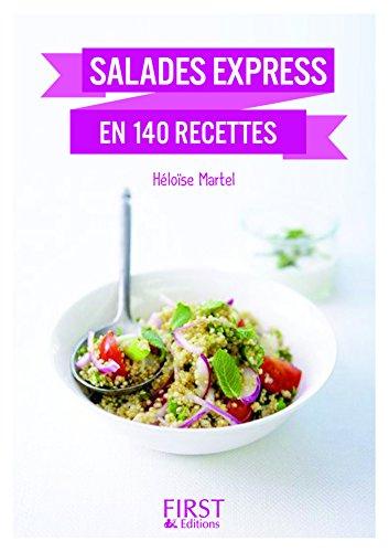 Petit Livre de - Salades express en 140 recettes, nouvelle édition (Le petit livre) (French Edition)