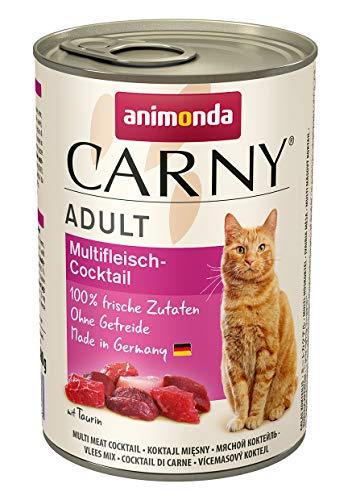 Animonda Katzenfutter Carny Adult Mix2 aus 4 Varietäten, 12er Pack (12 x 400 g) - 3