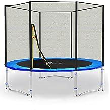 LS-T185-PA6 (B) LifeStyle ProAktiv Cama elástica para jardín 185 cm - Extra Fuerte red de seguridad, Probado por la seguridad y la función