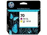 HP C9406A - Cabezal de impresión, 130 ml, Magenta/Amarillo
