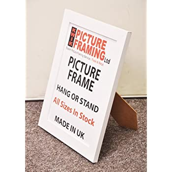 Kwik Picture Framing: A5 Flat White Picture Frames 30 mm (Pack Of 6 ...
