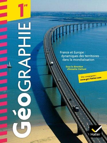 Géographie 1re éd. 2011 - Manuel de l'élève