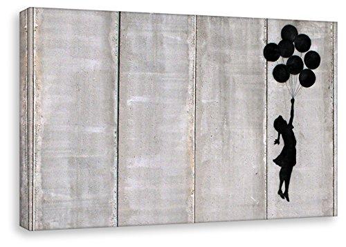 Kunstbruder Cuadro Banksy-Balloon Girl-Pop