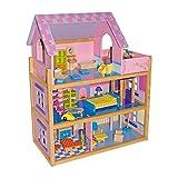 """Produktbild von Puppenhaus """"Rosa"""" Holz, in einem zauberhaft"""