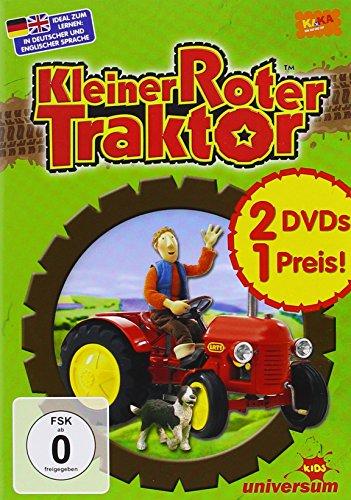 Kleiner roter Traktor