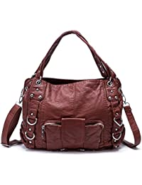 Coolives dames designer sacs PU sacs à main en cuir sac à bandoulière pour les femmes sac à main GW39oh
