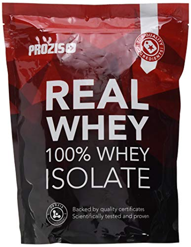 Prozis 100% Real Whey Isolate 1000 g White Chocolate with Raspberries