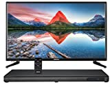 MEDION LIFE E67025 MD 84955 Bluetooth TV Soundbase + MEDION LIFE P12312 MD 31211 80 cm (31,5 Zoll HD) Fernseher mit DVD-Player