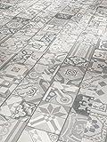 PARADOR Vinyl Trendtime 5.30 Fliese Ornamentic Grey Mineralstruktur Fuge 1,783m²