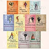 Edward Marston Collection Nicholas Bracewell Mysteries 9 Books Bundle ( The Nine Giants,Merry Devils, Trip to Jerusalem,Malevolent Comedy,Vagabond Clown,Counterfeit Crank,Wanton Angel,Bawdy Basket,Laughing Hangman )