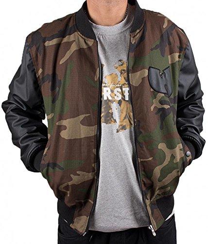 Wu Wear Protect Ya Neck College Bomber Jacket Camouflage Wu-Tang Clan M-XXL (Wu Wear Jacke)