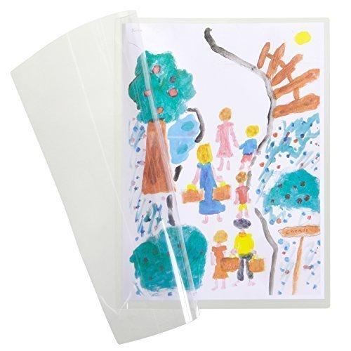 Preisvergleich Produktbild Selbstlaminierende Karten A4 - 10 Stück Laminierfolien - Kein Laminiergerät Nötig