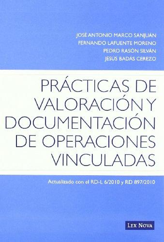 Prácticas de valoración y documentación de operaciones vinculadas (Monografía)