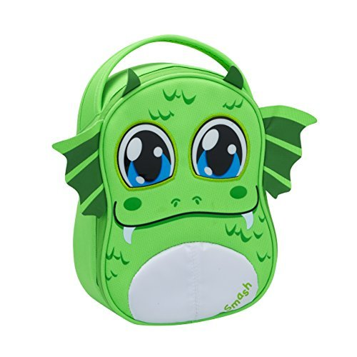 smash-polyester-boggle-monster-lunch-bag-set-of-1-green-by-smash